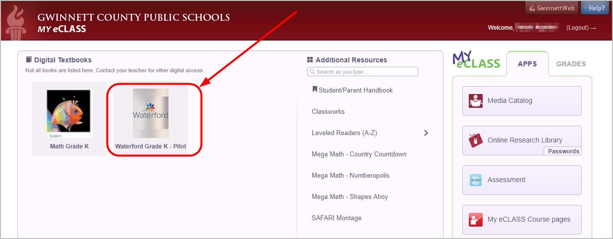 My E Clas >> Sycamore Elementary School