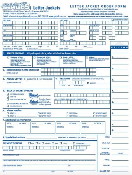 letter jacket order form 2016 17jpg